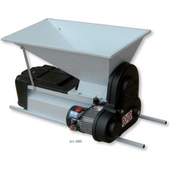 Desciorchinator cu motor electric, productie 1500 kg/h, cuva din tabla emailata, Mantzaris International
