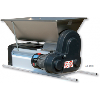 Desciorchinator cu motor electric, productie 1500 kg/h, cuva din inox,  Mantzaris International