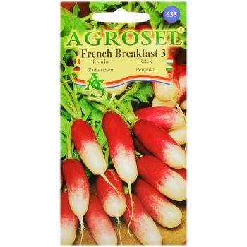 Seminte ridichi French Breakfast 3(6 gr) Agrosel