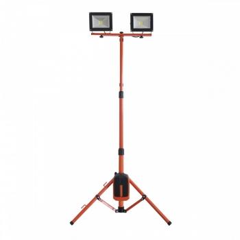 Proiector cu doua lampi LED 2x20W, fara acumulator, Redback