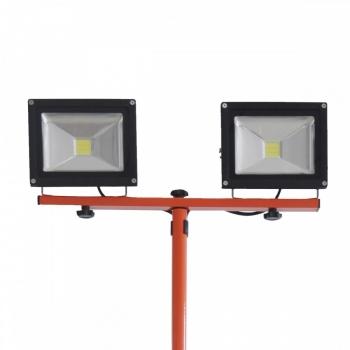 Proiector cu doua lampi LED 2x20W, fara acumulator, Redback #2