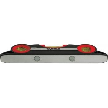 Nivela scurta cu magnet, lungime  23 cm, 3 fiole, Nivoliner, MOB&IUS #2