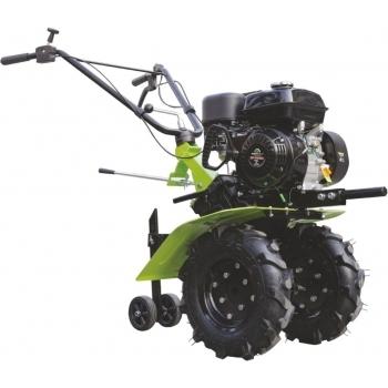 Motosapa Greenfield GP-7085A cu roti 4.00-8, benzina, putere 7 Cp, latime de lucru 81 cm, pornire la sfoara, 2 viteze inainte + 1 inapoi