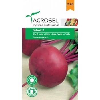 Seminte sfecla rosie Detroit 2(5 gr) Agrosel, 2PG