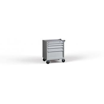 Container C-Roll 860/730 H4, 4 sertare, blat cauciuc, Metalobox