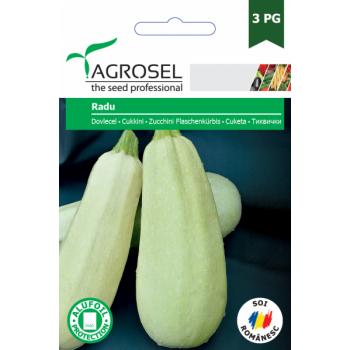 Seminte dovlecel Radu (8 gr) Agrosel, 3PG