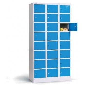 Dulap Box 3/24 cu compartimente mici , Metalobox