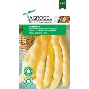 Seminte fasole urcatoare Ecaterina(20 gr) Agrosel