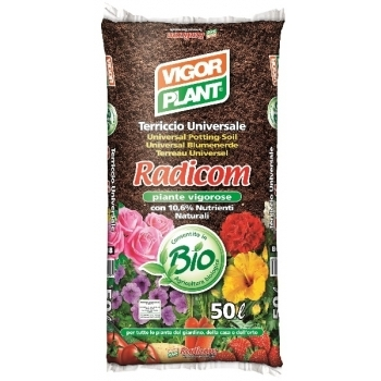 Pamant universal de flori, Radicom, 50 L, Vigorplant