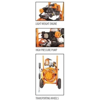 Atomizor VS 30, 0.9 CP, capacitate rezervor solutie 30 L, Villager #2
