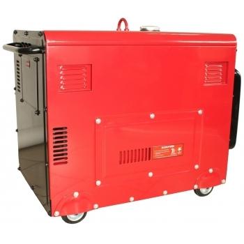 Generator de curent insonorizat Senci, SC7500Q, monofazic, putere 6.0 kW, diesel, putere motor 13 Cp, tensiune 230 V, pornire electrica, AVR inclus #4