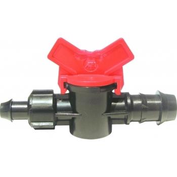 Minivana dubla piulita insert tub picurare 16 mm, Palaplast