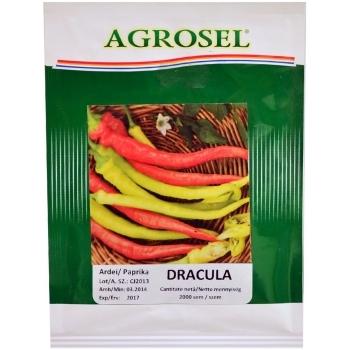 Seminte ardei iute Dracula(2000 seminte) Agrosel #2