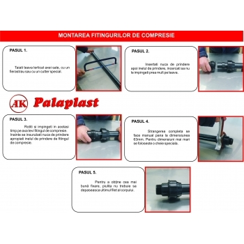 Cot compresie FI 25X1'', Palaplast #3