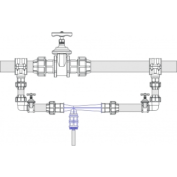 Kit fertirigare 40x1'', Palaplast