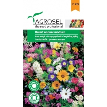 Seminte Amestec anual pitic (3.5gr), Agrosel, 2PG