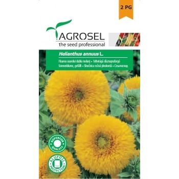 Seminte Floarea soarelui,  dublu melanj (3gr), Agrosel