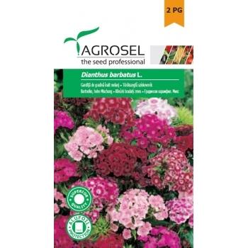 Seminte Garofita de gradina,  melanj (1gr), Agrosel, 2PG
