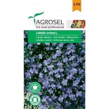 Seminte Lobelia albastru (0.3gr), Agrosel