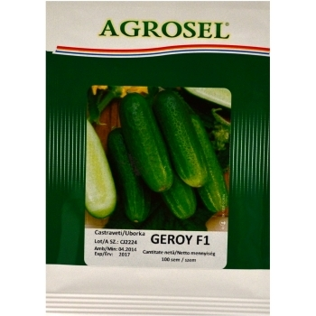Seminte castraveti cornichon Geroy F1(100 sem) Agrosel