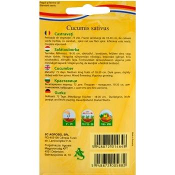 Seminte castraveti Marketmore(4 gr) Agrosel #2