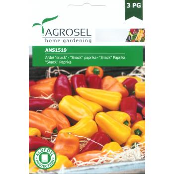 Seminte Ardei pitic dulce snack,  galben , ANS1519 F1 (1gr), Agrosel