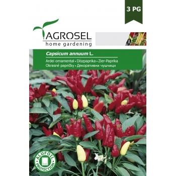 Seminte Ardei ornamental (1gr), Agrosel