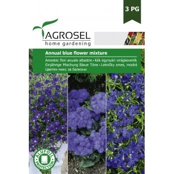 Seminte Amestec flori anuale albastre ( 2.5 gr), Agrosel