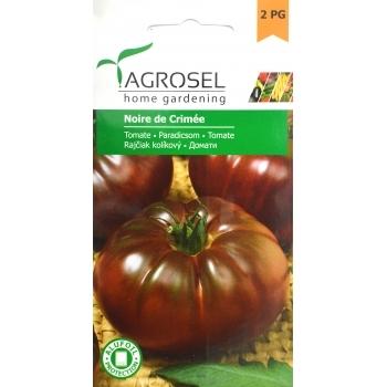 Seminte Tomate negre Noire de Crimée (1 gr), Agrosel, 2PG