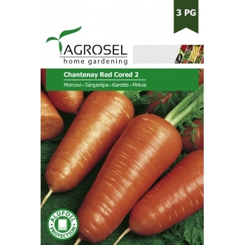 Seminte Morcov Chantenay Red Cored 2 (8gr), Agrosel