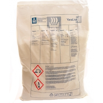 Ingrasamant solubil in apa, cu aplicare foliara si fertirigare, Calcinit, 2 kg,  Yara #2