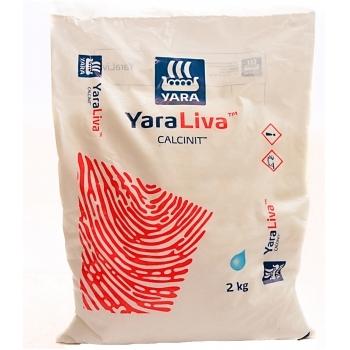 Ingrasamant solubil in apa, cu aplicare foliara si fertirigare, Calcinit, 2 kg,  Yara