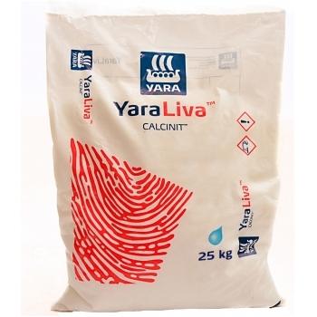 Ingrasamant solubil in apa, cu aplicare foliara si  fertirigare,  Calcinit, 25 kg,  Yara