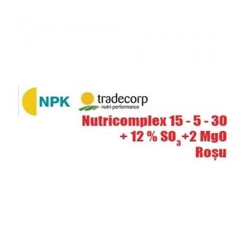 Ingrasamant cu aplicare foliara si fertirigare, Nutricomplex 15-5-30 (25 kg), TCI
