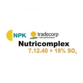 Ingrasamant cu aplicare foliara si fertirigare, Nutricomplex   7-12-40   (25 kg), TCI