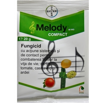 Fungicid Melody compact 49 WG(20 gr) Bayer