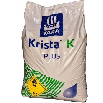 Ingrasamant solubil in apa, cu aplicare foliara si  fertirigare,   Krista K Plus, 25 kg,  Yara