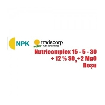 Ingrasamant cu aplicare foliara si fertirigare, Nutricomplex 15-5-30 (500 g), TCI