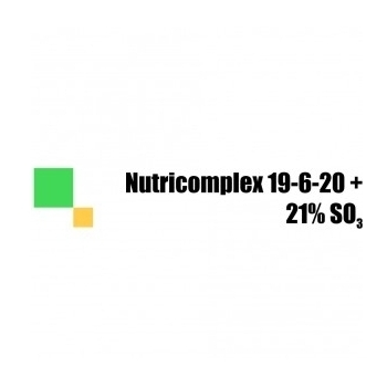 Ingrasamant cu aplicare foliara si fertirigare, Nutricomplex 19-6-20  (500 g), TCI