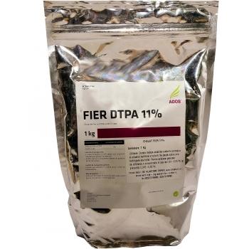 Ingrasamant solubil in apa, cu aport suplimentar de fier (11%), cu aplicare foliara si fertirigare,  Chelat Fier 11%, 1 kg,  Adob S.P.