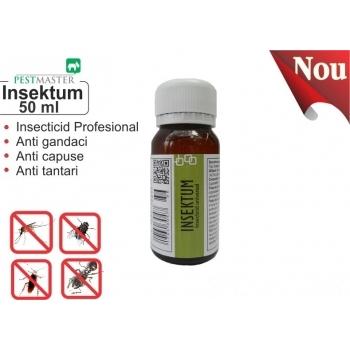 Insecticid universal impotriva insectelor taratoare si zburatoare - Insektum , 50 ml , Pestmaster