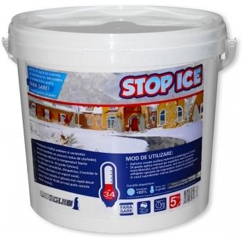 Produs biodegradabil pentru deszapezire, prevenire/ combatere gheata, dezghetare rapida, STOP ICE,  5 kg, Pestmaster