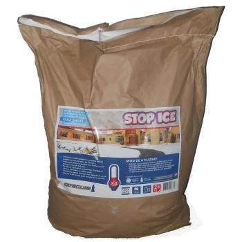Produs biodegradabil pentru deszapezire, prevenire/ combatere gheata, dezghetare rapida, STOP ICE,  25 kg, Pestmaster