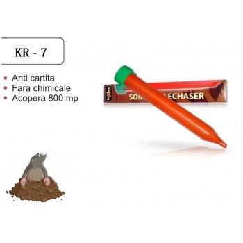 Dispozitiv electronic pentru combaterea rozatoarelor subterane (cartita, jder, dihor, sobolan de camp) Pest-X-repel KR8, 800mp, Pestmaster
