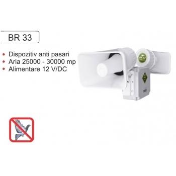 Dispozitiv electronic cu alarma acustica impotriva pasarilor daunatoare BR 33, 25000-30000mp, Pestmaster