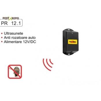 Dispozitiv cu ultrasunete impotriva rozatoarelor pentru autovehicule - PestXRepel PR-12.1, Pestmaster