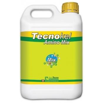 Ingrasamant lichid, cu aport de microelemente, cu aplicare foliara si fertirigare,  Tecnokel Amino Mix, 5 L,  AgriTecno