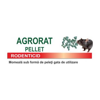 Raticid pentru combaterea rozatoarelor,  Agrorat Pellet, cutie 10 kg, Farmavit