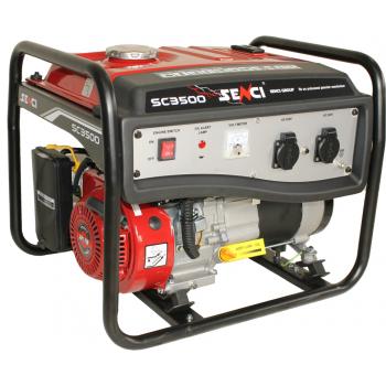 Generator de curent monofazic, Senci SC-3500 Lite, putere maxima 3 kW, AVR inclus, Senci #2