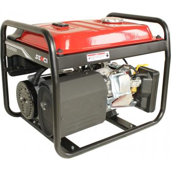 Generator de curent monofazic, Senci SC-3500 Lite, putere maxima 3 kW, AVR inclus, Senci